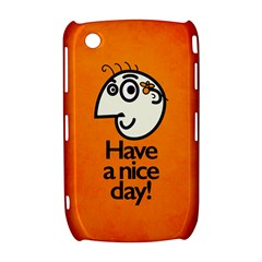 Have A Nice Day Happy Character BlackBerry Curve 8520 9300 Hardshell Case
