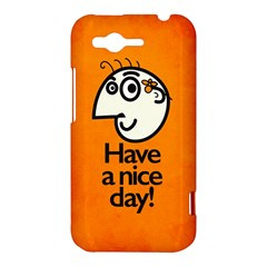 Have A Nice Day Happy Character HTC Rhyme Hardshell Case