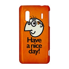 Have A Nice Day Happy Character HTC Evo Design 4G/ Hero S Hardshell Case