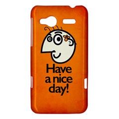 Have A Nice Day Happy Character HTC Radar Hardshell Case