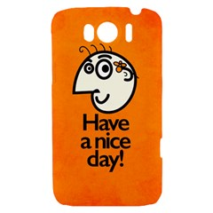 Have A Nice Day Happy Character HTC Sensation XL Hardshell Case