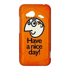 Have A Nice Day Happy Character HTC Droid Incredible 4G LTE Hardshell Case