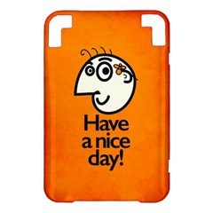 Have A Nice Day Happy Character Kindle 3 Keyboard 3G Hardshell Case