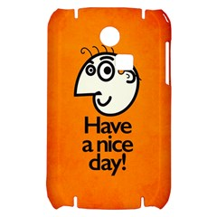 Have A Nice Day Happy Character Samsung S3350 Hardshell Case