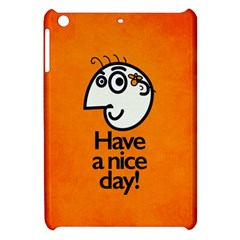 Have A Nice Day Happy Character Apple iPad Mini Hardshell Case