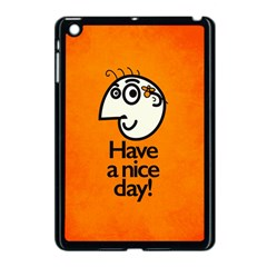 Have A Nice Day Happy Character Apple iPad Mini Case (Black)
