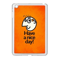 Have A Nice Day Happy Character Apple Ipad Mini Case (white)