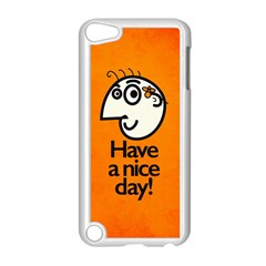 Have A Nice Day Happy Character Apple iPod Touch 5 Case (White)