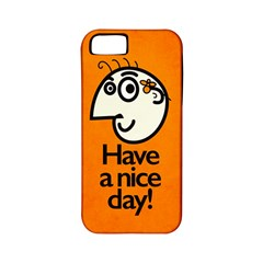 Have A Nice Day Happy Character Apple Iphone 5 Classic Hardshell Case (pc+silicone)