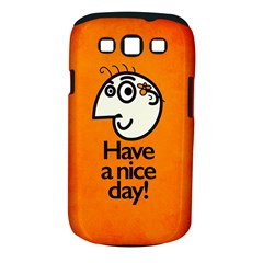 Have A Nice Day Happy Character Samsung Galaxy S III Classic Hardshell Case (PC+Silicone)