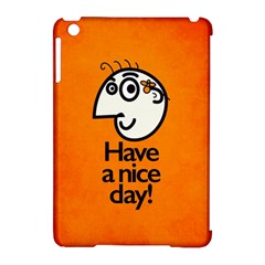 Have A Nice Day Happy Character Apple iPad Mini Hardshell Case (Compatible with Smart Cover)