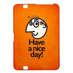 Have A Nice Day Happy Character Kindle Fire HD 8.9  Hardshell Case