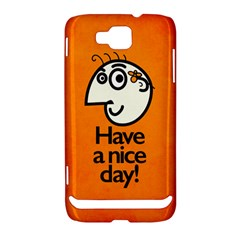 Have A Nice Day Happy Character Samsung Ativ S i8750 Hardshell Case