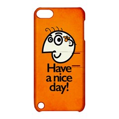 Have A Nice Day Happy Character Apple iPod Touch 5 Hardshell Case with Stand