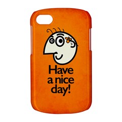 Have A Nice Day Happy Character BlackBerry Q10 Hardshell Case