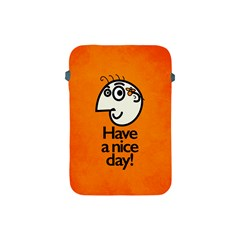 Have A Nice Day Happy Character Apple Ipad Mini Protective Sleeve