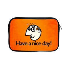 Have A Nice Day Happy Character Apple iPad Mini Zippered Sleeve