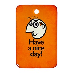 Have A Nice Day Happy Character Samsung Galaxy Note 8.0 N5100 Hardshell Case