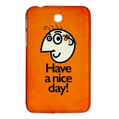Have A Nice Day Happy Character Samsung Galaxy Tab 3 (7 ) P3200 Hardshell Case