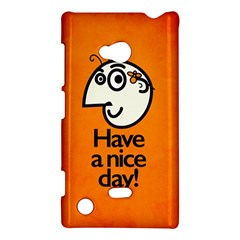 Have A Nice Day Happy Character Nokia Lumia 720 Hardshell Case
