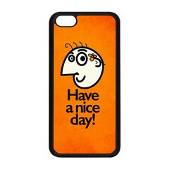 Have A Nice Day Happy Character Apple Iphone 5c Seamless Case (black)