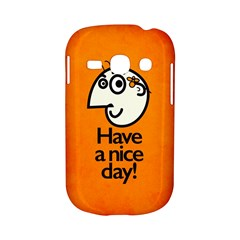 Have A Nice Day Happy Character Samsung Galaxy S6810 Hardshell Case