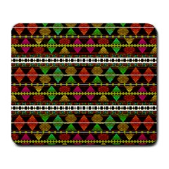 Aztec Style Pattern Large Mouse Pad (Rectangle)