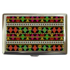 Aztec Style Pattern Cigarette Money Case