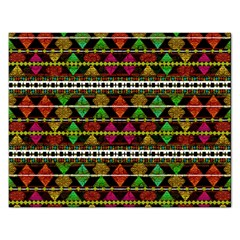 Aztec Style Pattern Jigsaw Puzzle (Rectangle)