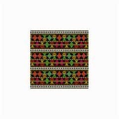 Aztec Style Pattern Canvas 36  x 48  (Unframed)