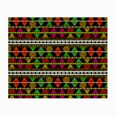 Aztec Style Pattern Glasses Cloth (Small, Two Sided)