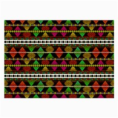 Aztec Style Pattern Glasses Cloth (large)