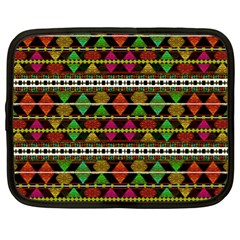 Aztec Style Pattern Netbook Sleeve (xl)