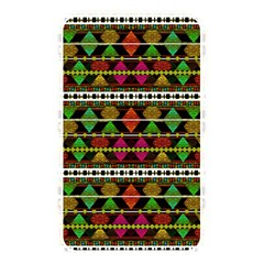 Aztec Style Pattern Memory Card Reader (Rectangular)