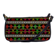 Aztec Style Pattern Evening Bag