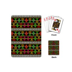 Aztec Style Pattern Playing Cards (mini)