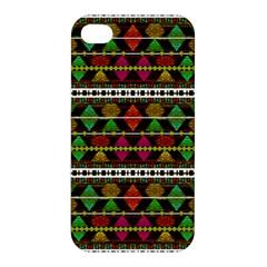 Aztec Style Pattern Apple Iphone 4/4s Hardshell Case