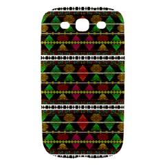 Aztec Style Pattern Samsung Galaxy S III Hardshell Case