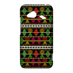 Aztec Style Pattern HTC Droid Incredible 4G LTE Hardshell Case