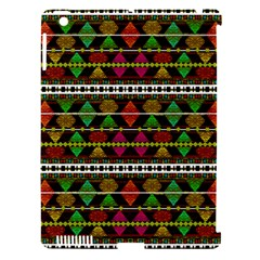 Aztec Style Pattern Apple Ipad 3/4 Hardshell Case (compatible With Smart Cover)