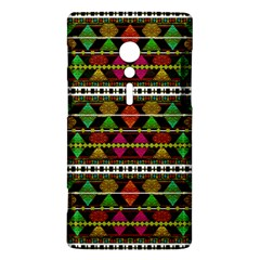 Aztec Style Pattern Sony Xperia ion Hardshell Case