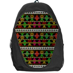Aztec Style Pattern Backpack Bag