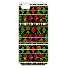 Aztec Style Pattern Apple iPhone 5 Seamless Case (White)