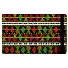 Aztec Style Pattern Apple iPad 3/4 Flip Case