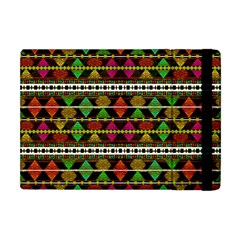 Aztec Style Pattern Apple iPad Mini Flip Case