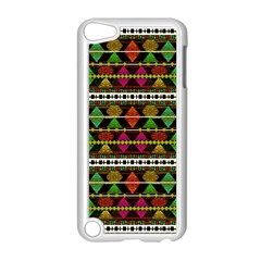 Aztec Style Pattern Apple iPod Touch 5 Case (White)