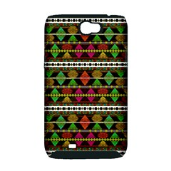 Aztec Style Pattern Samsung Galaxy Note 2 Hardshell Case (PC+Silicone)