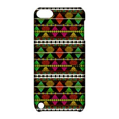 Aztec Style Pattern Apple iPod Touch 5 Hardshell Case with Stand