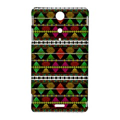 Aztec Style Pattern Sony Xperia TX Hardshell Case