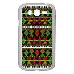 Aztec Style Pattern Samsung Galaxy Grand DUOS I9082 Case (White)